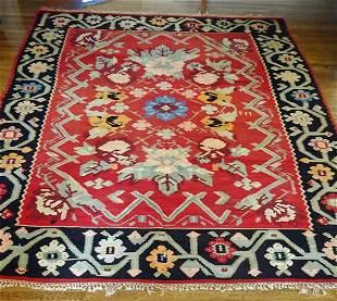 Hand Woven Moldovian Rug 8.5x11.3