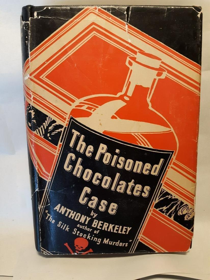 POISONED CHOCOLATES CASE-Crime Club-1929-early ed-rare