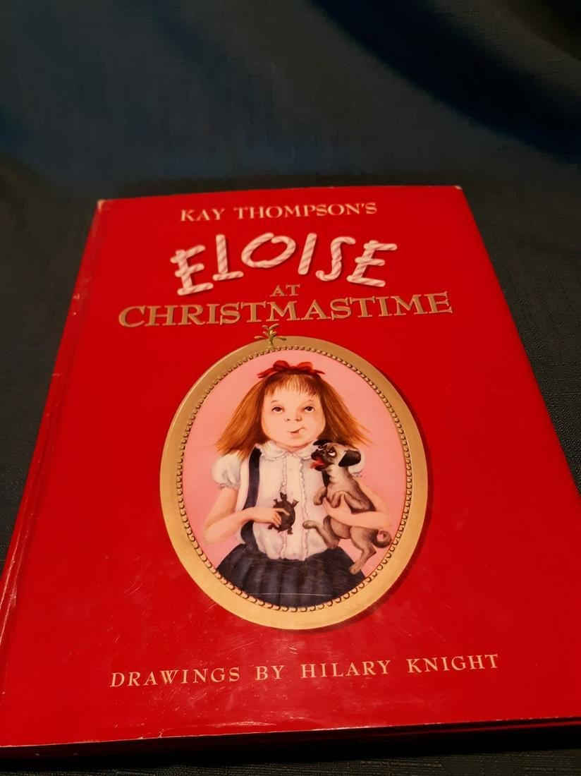 Eloise At Christmastime-Child's book-dj-1958-1st ed