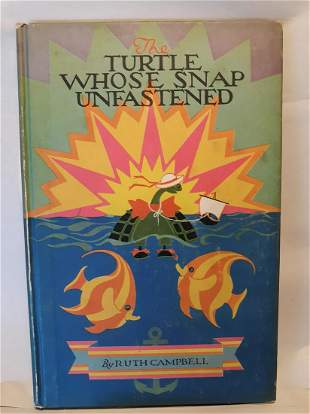 TURTLE WHOSE SNAP UNFASTENED1927Volland CoCampbell
