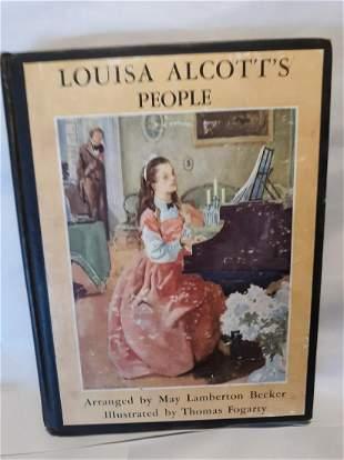 LOUISA ALCOTTS PEOPLE1936Thomas Fogarty Illustrated