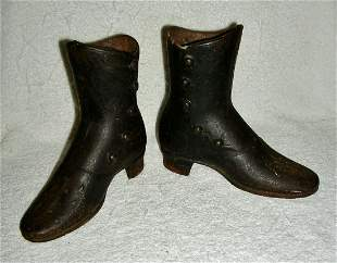 Pair of Iron Mannequin Boots