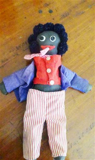 Vintage Black Man Doll