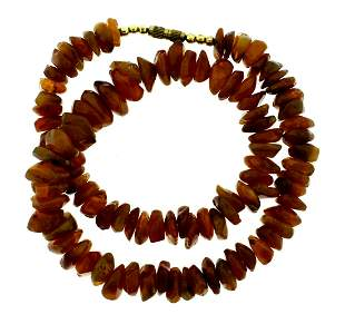 BALTIC AMBER NECKLACE STRAND GREAT GIFT