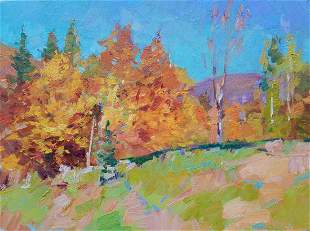 Oil painting Lawn Tepeta Miacheslav