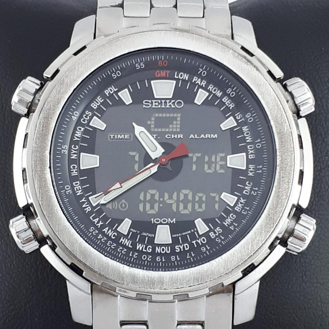 Seiko - Worldtime - Ref:H023-00G0 - Men - 1980-1989