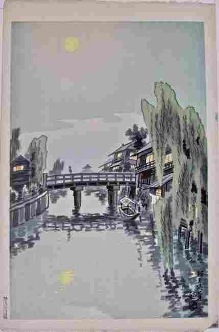 Artist: Eiichi KOTOZUKA Subject: The Bentenbashi