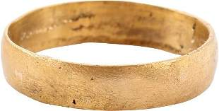 ANCIENT VIKING WEDDING RING 9TH-10TH CENTURY AD SZ 2