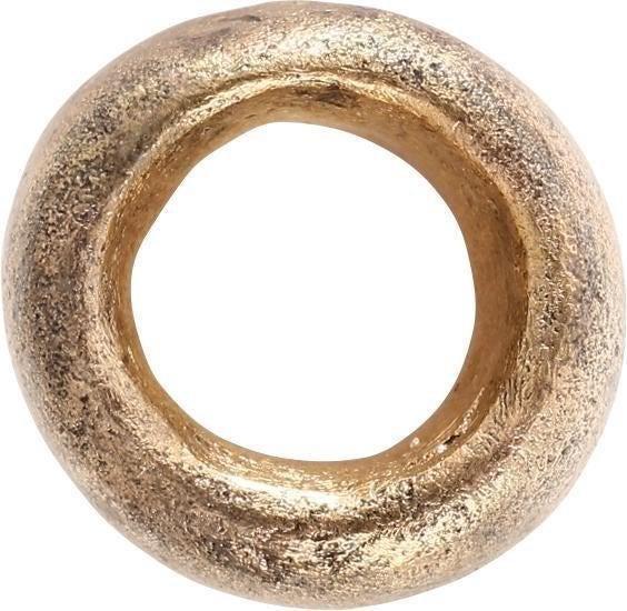 VIKING GILT BRONZE BEAD, 866-1067 AD