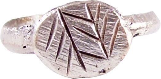 FINE ROMAN RING 2ND-MID 4TH CENTURY AD SZ 7