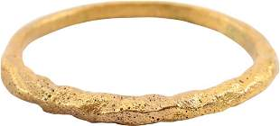 FINE VIKING TWISTED RING C.866-1067 AD SIZE 9.
