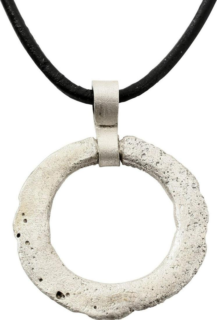 VIKING PROTECTIVE BROOCH PENDANT NECKLACE 10th-11th