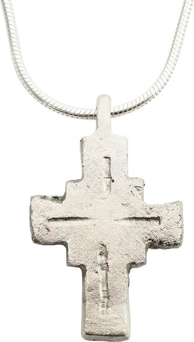 MEDIEVAL PILGRIM RELIQUARY CROSS 7th-10th CENT JEWELRY