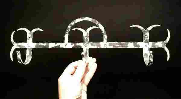 Iron Wall Utensil Herb Coat Hook