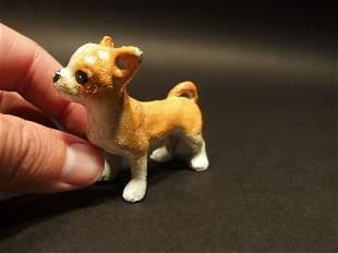 Miniature Cast Iron Chihuahua Dog