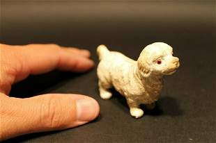 Miniature Cast Iron Prince Charles Spaniel Dog
