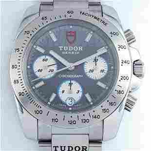 Tudor - Sport Chronograph Grey Dial - Ref: 8220 - Men -