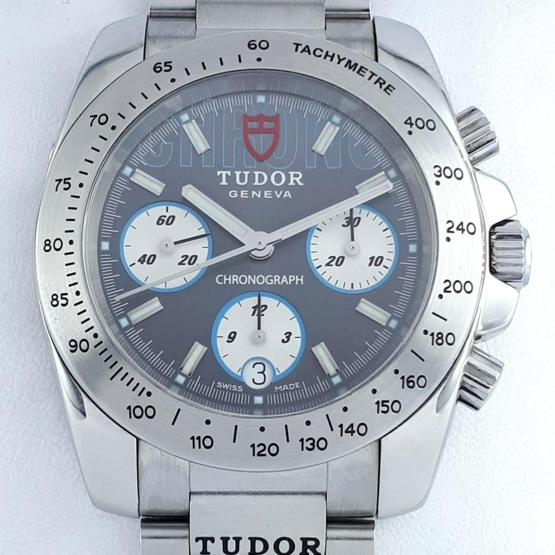 Tudor - Sport Chronograph Grey Dial - Ref: 8220 - Men -