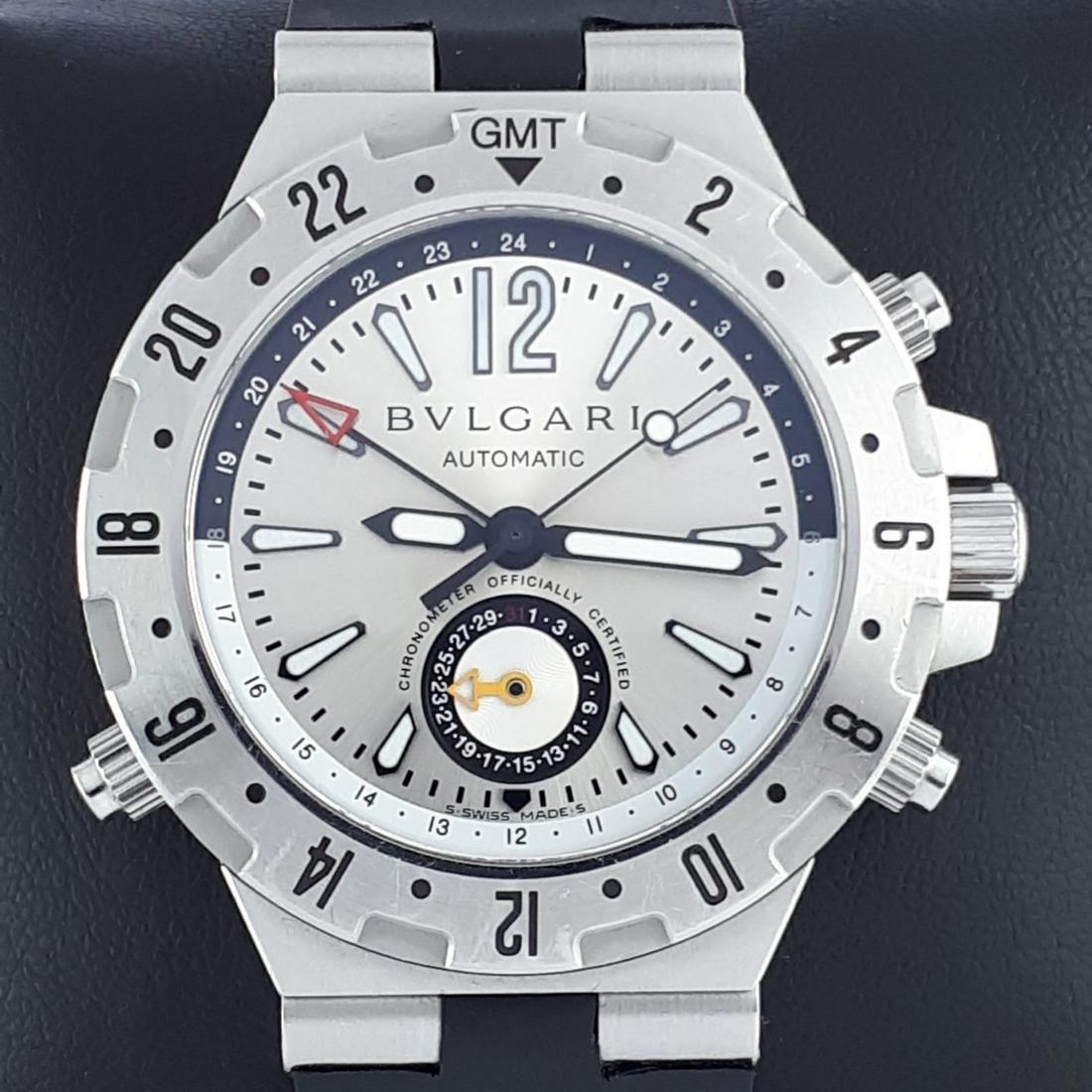 Bulgari - Diagono Professional GMT Automatic - Ref: GMT