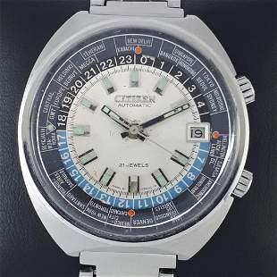 Citizen - World Time Automatic - Ref: 68-0516 - Men -