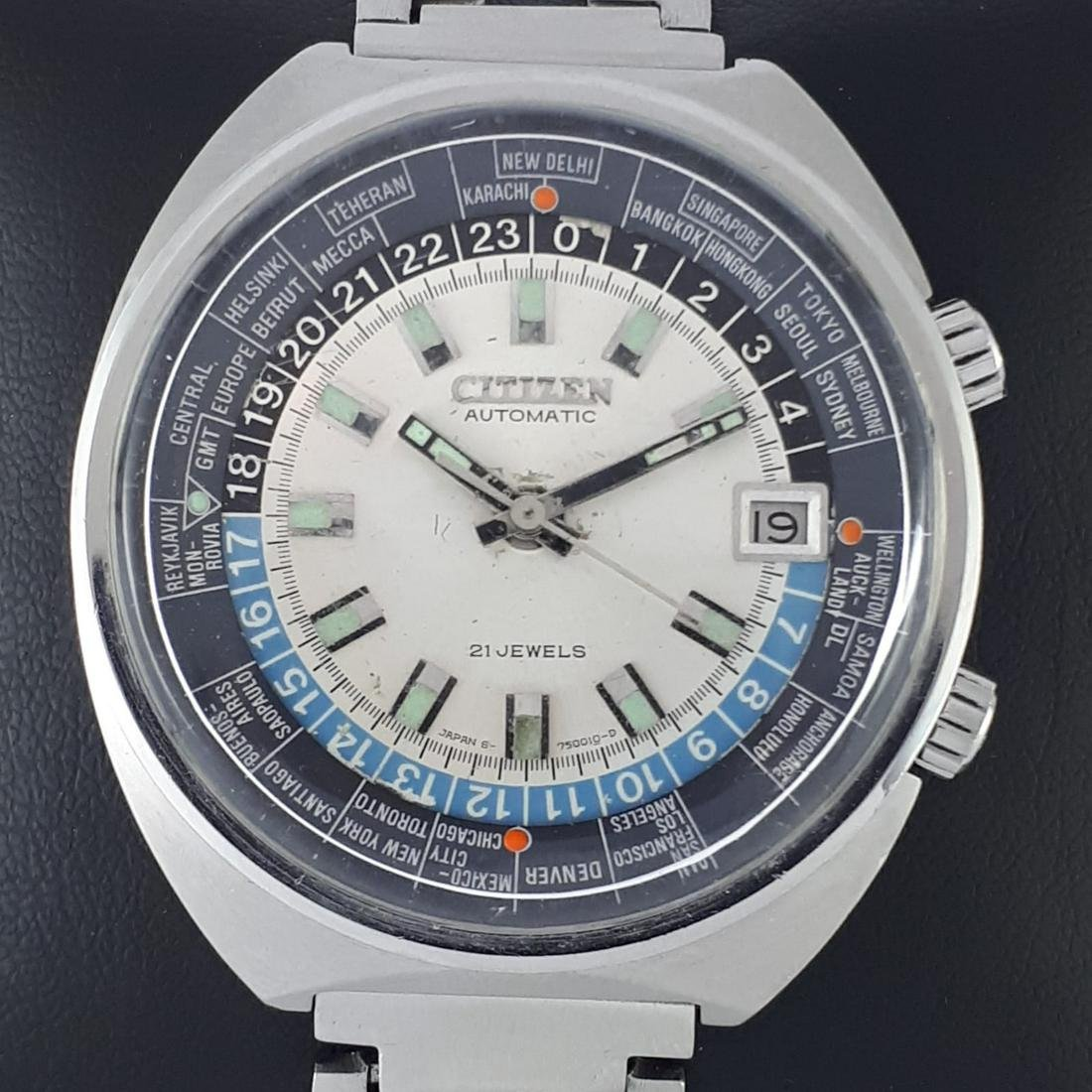 Citizen - World Time Automatic - Ref: 68-0516 - Men -