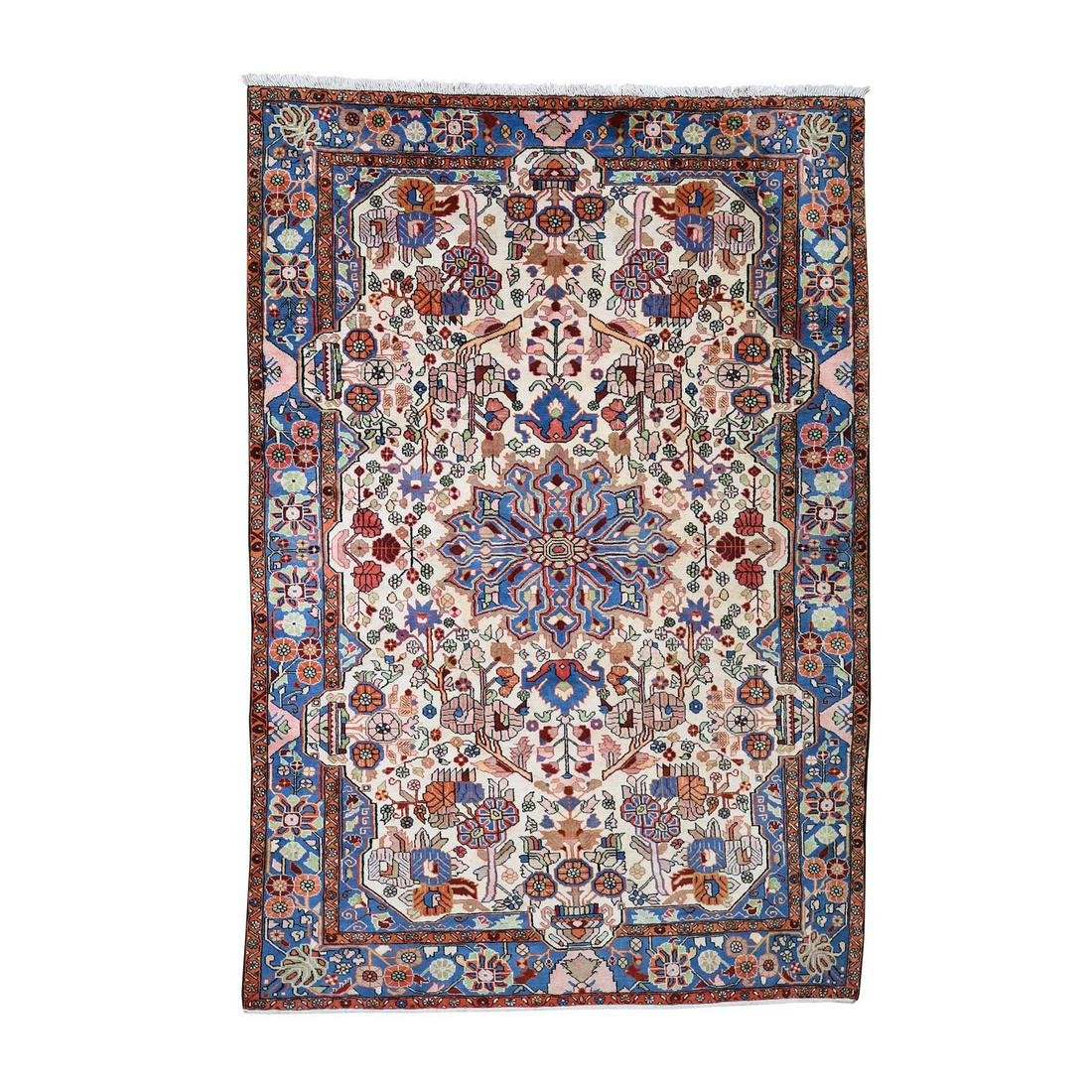 New Persian Nahavand Hand-Knotted Oriental Rug