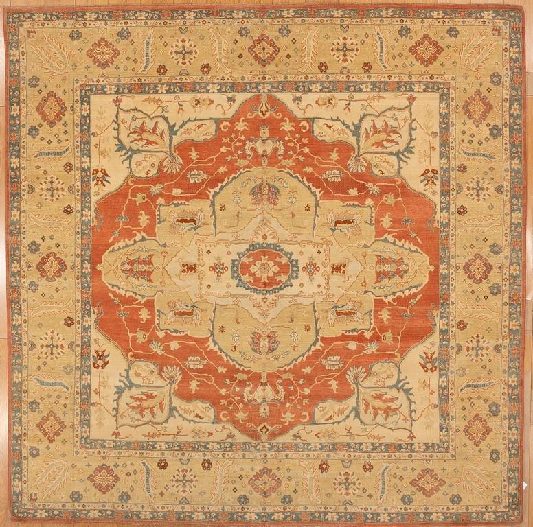 Square Oushak Rug MD