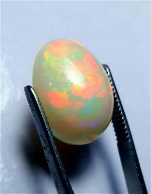 Fire Opal Ethopian Origin Oval Shape - 11.5 Carats -