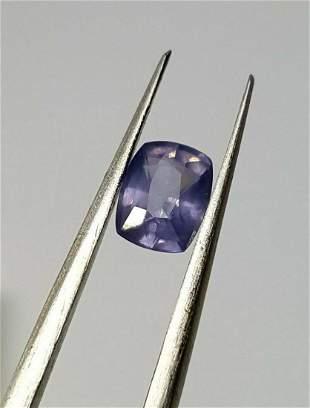 0 Cent Natural Pinkish Blue Sapphire