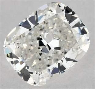 GIA CERT 1.09 CTW CUSHION DIAMOND GSI1