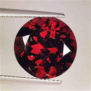 925 ct Natural Rhodolite Garnet Round Cut