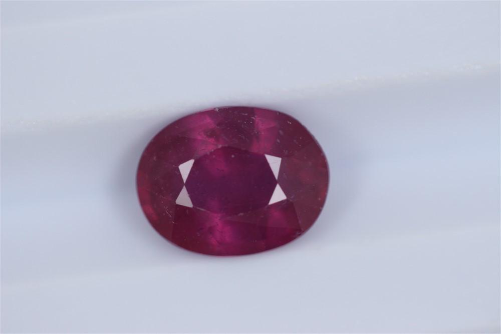 2.48ct Ruby Oval cut