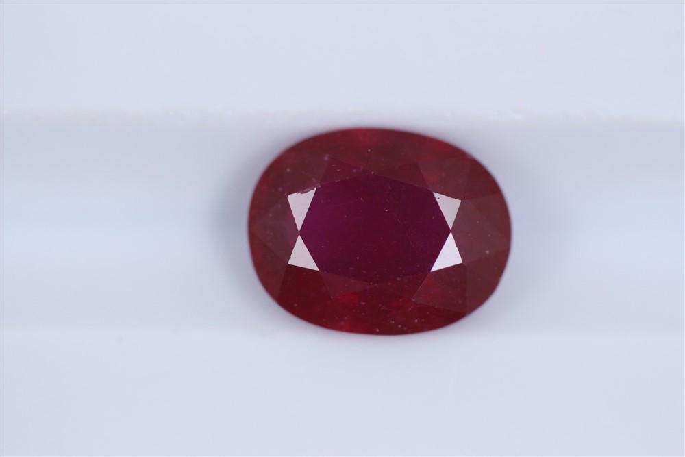 2.5ct Ruby Oval cut