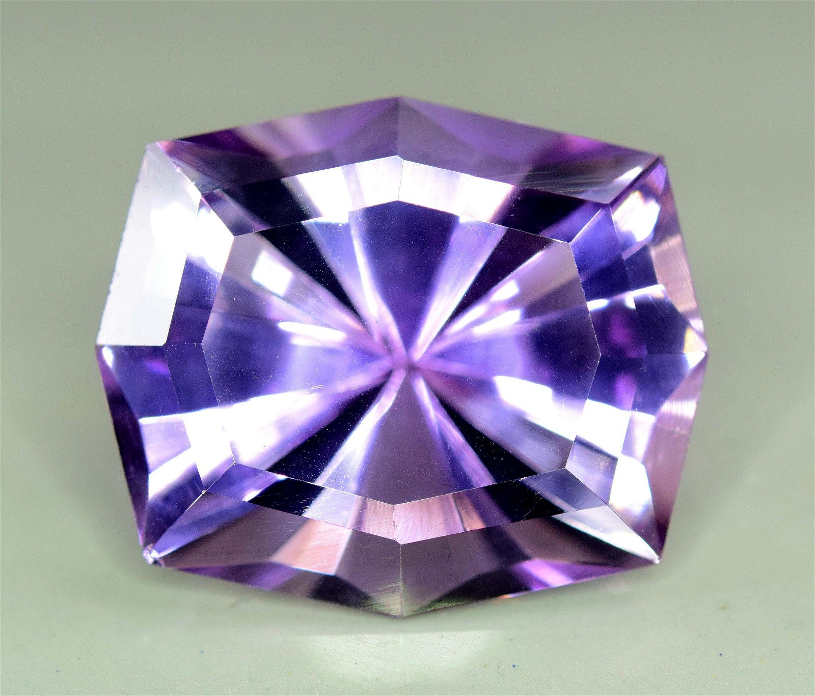 29.20 carats fancy Spider Step Cut Natural Amethysts