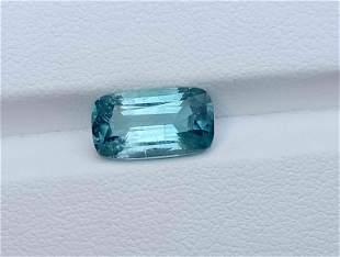 35 Carats Beautiful Blu Tourmaline Facted 12x6x5 MM
