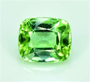 Tourmaline Gemstone Mint Green Tourmaline Cut stone