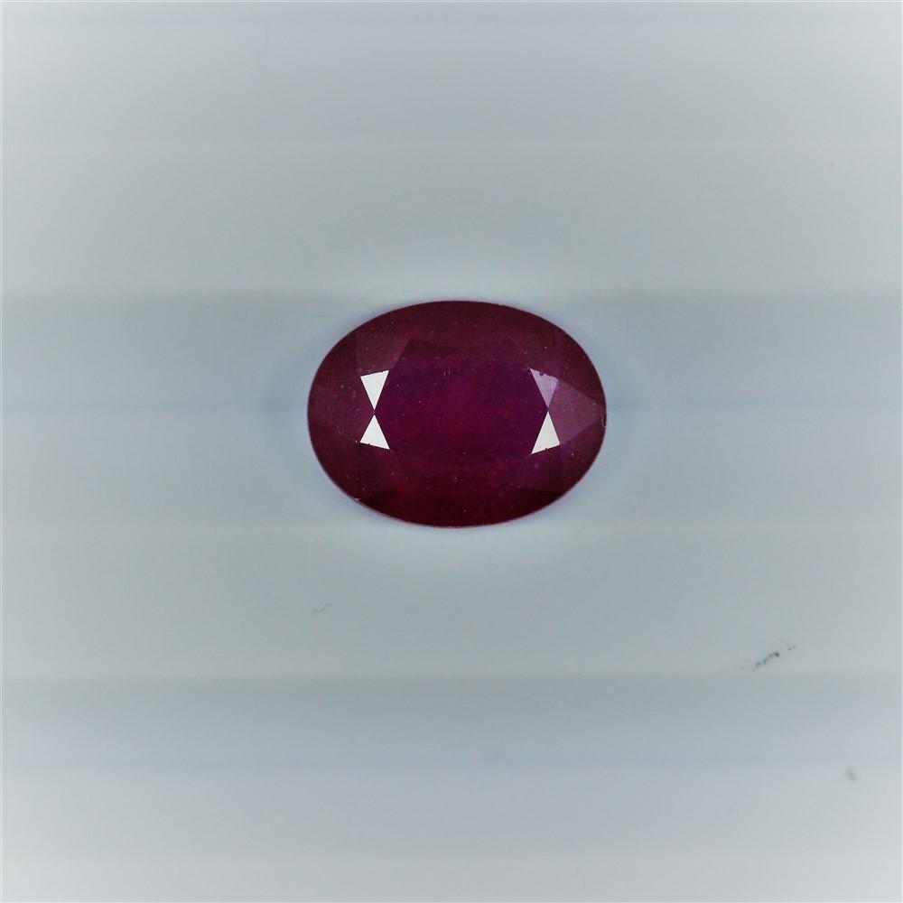 2.41ct Ruby Oval cut