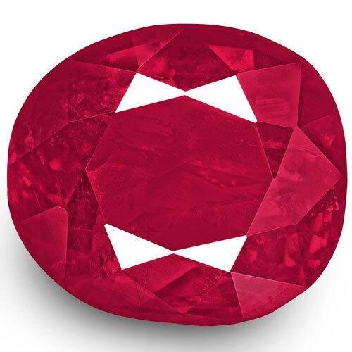 1.47-Carat Unheated Deep Pinkish Red from Mokok