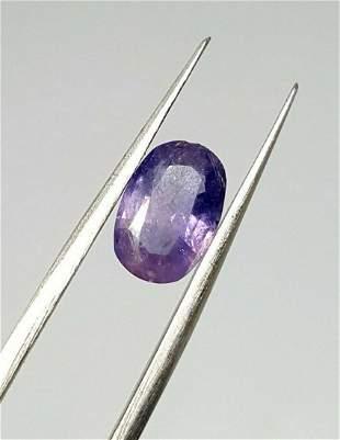 80 Cent Natural Pinkish Blue Sapphire