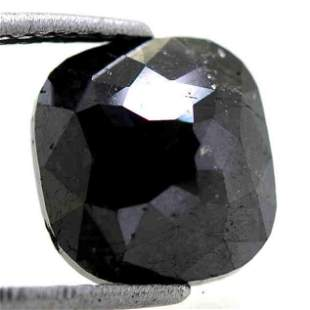 513 Cts Natural Black Diamond