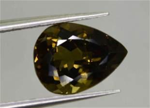 245 Carats Pear Cut Natural Tourmaline10x7x5 mm