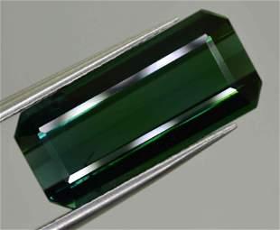 6 Carats Blu Green Natural Tourmaline16x7x5 mm