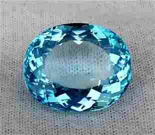 48 Carats Supreme Quality Natural Swiss Blue Topaz