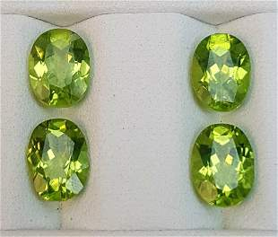 6 Carats 7up Color Jewelry Size Natural Peridot Lot