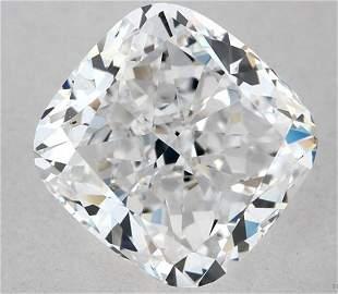 GIA CERT 140 CTW CUSHION DIAMOND DVS1