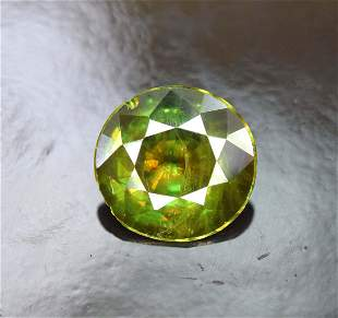 175 carats AAA Color Full Fire Natural Chrome Sphene