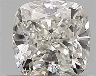 GIA CERT 050 CTW CUSHION DIAMOND HVS1