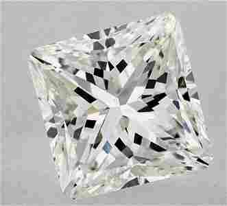 GIA CERT 2.02 CTW cut cornerd square DIAMOND HVS2