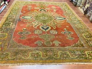 Antique Persian Sultanabd Mahal Rug2661