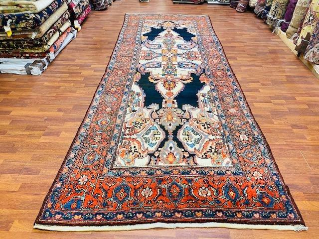 Antique persian Malayer Kaleh rug-3295